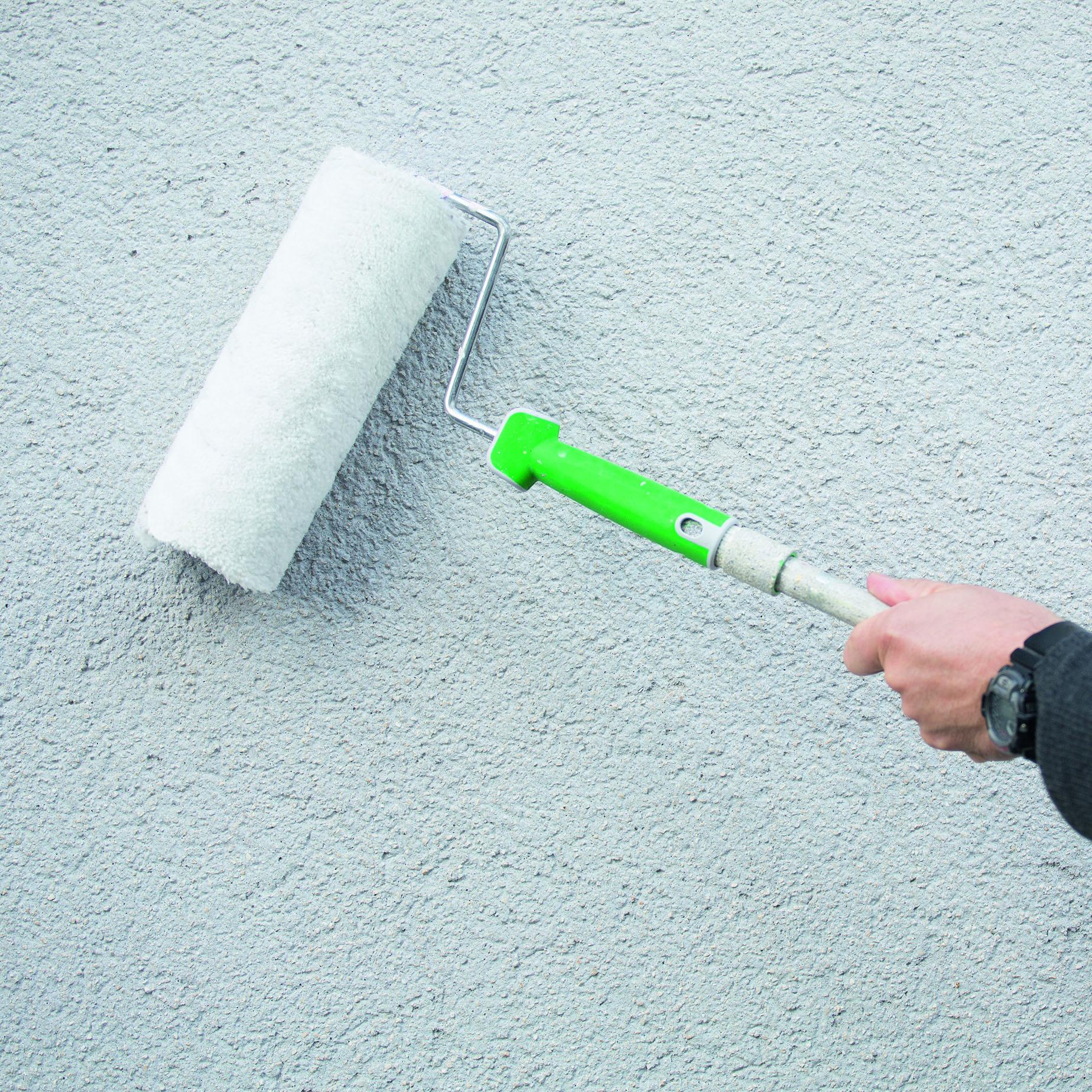 Fassade streichen Anleitung und Tipps: Alpina Außen streichen