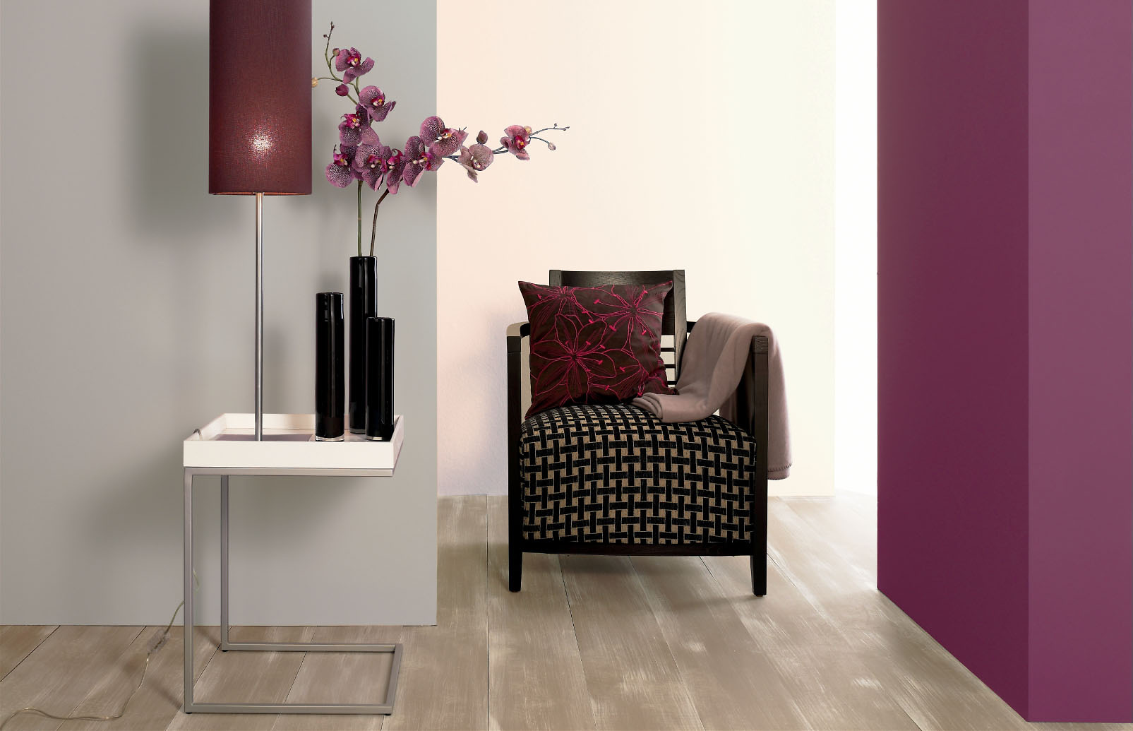 welche wandfarbe zu welchem holz farben passt alpina farbe einrichten. Black Bedroom Furniture Sets. Home Design Ideas