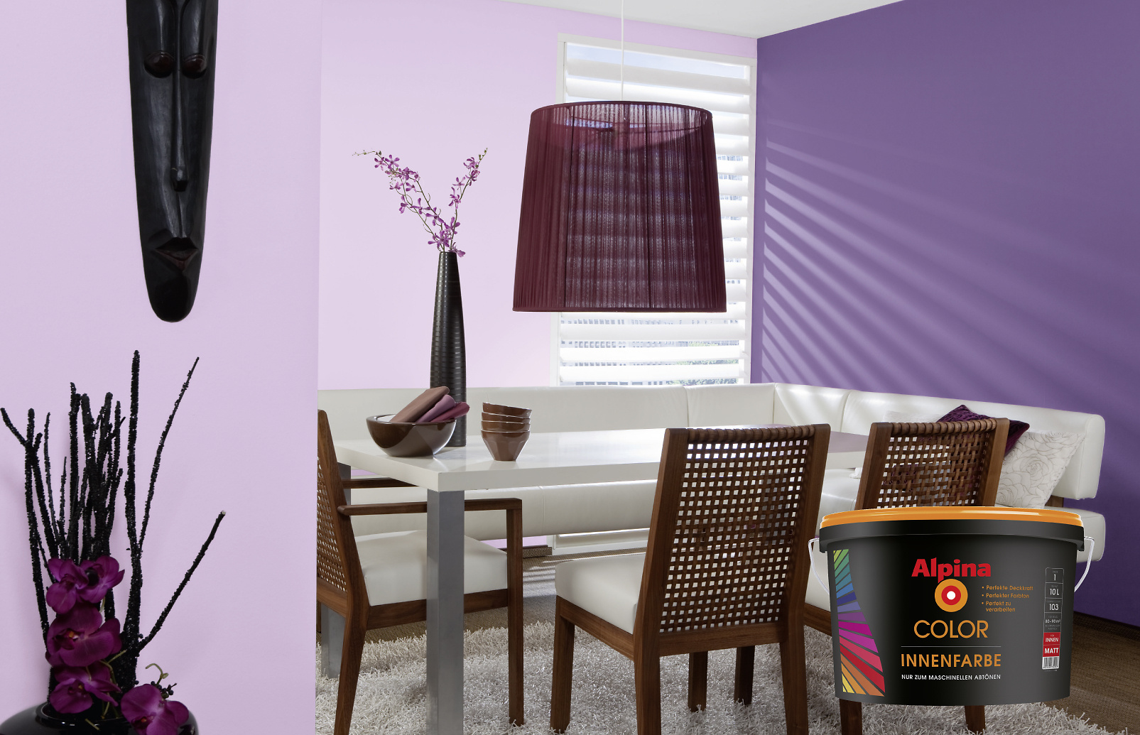 farben mischen diese m glichkeiten gibt es alpina innen streichen. Black Bedroom Furniture Sets. Home Design Ideas