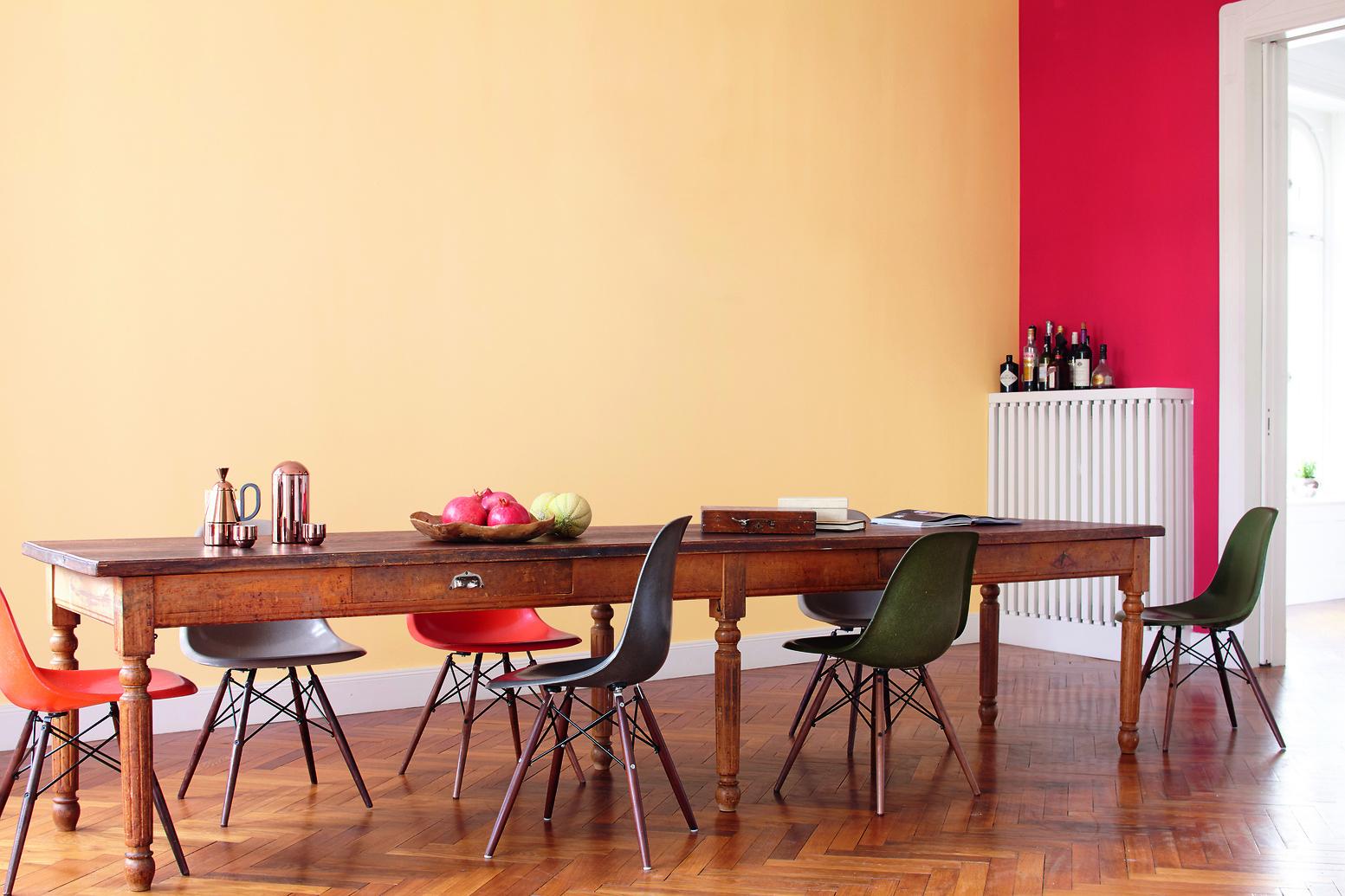 AF019137_47_Esszimmer_Sweet_Home_031_Farbrezepte_ohne_Lampe. Orangetöne Im  Wohnzimmer Wirken Warm Und Aktivierend.