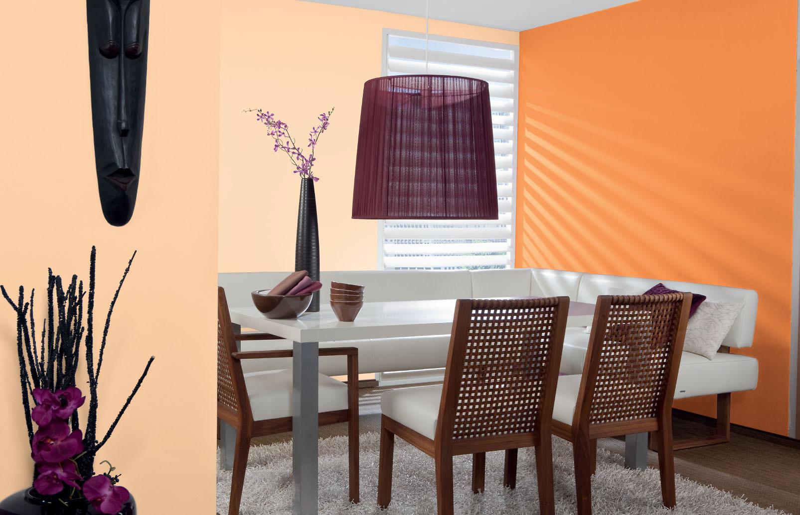 Abtonfarbe Farbe Selber Mischen Alpina Color Fresh Orange Alpina