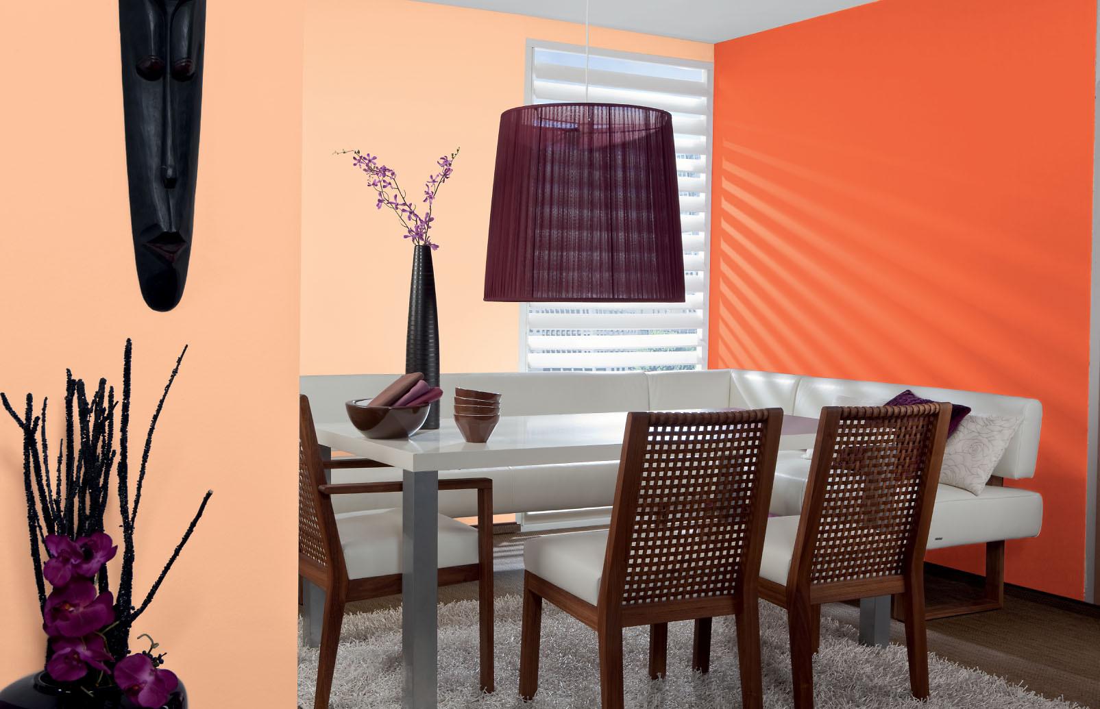 Abtönfarbe, Farbe selber mischen. Orange-Rot: Alpina Color Happy ...