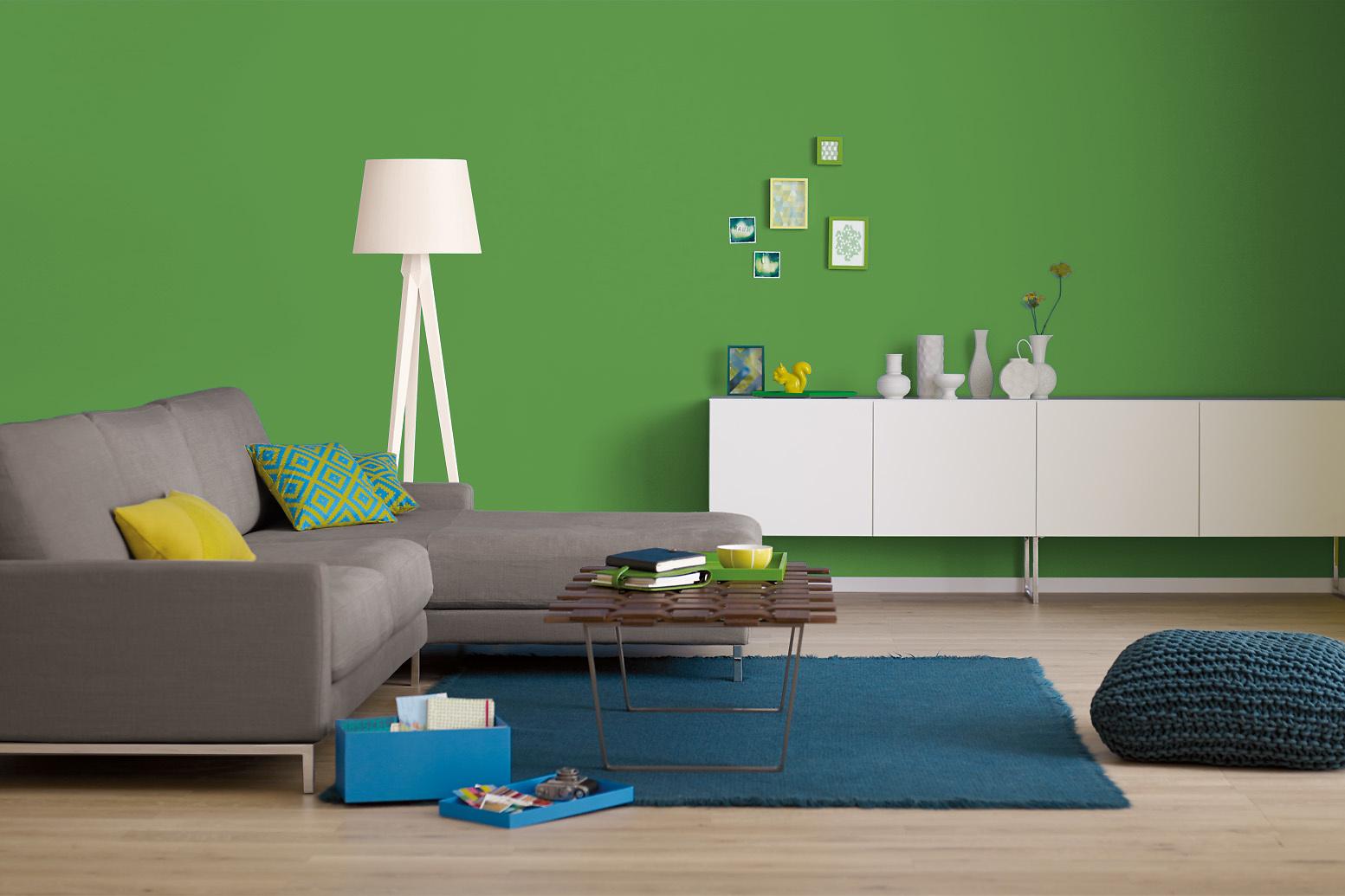 innenfarbe in gr n mittelgr n streichen alpina farbrezepte natur pur alpina farben. Black Bedroom Furniture Sets. Home Design Ideas