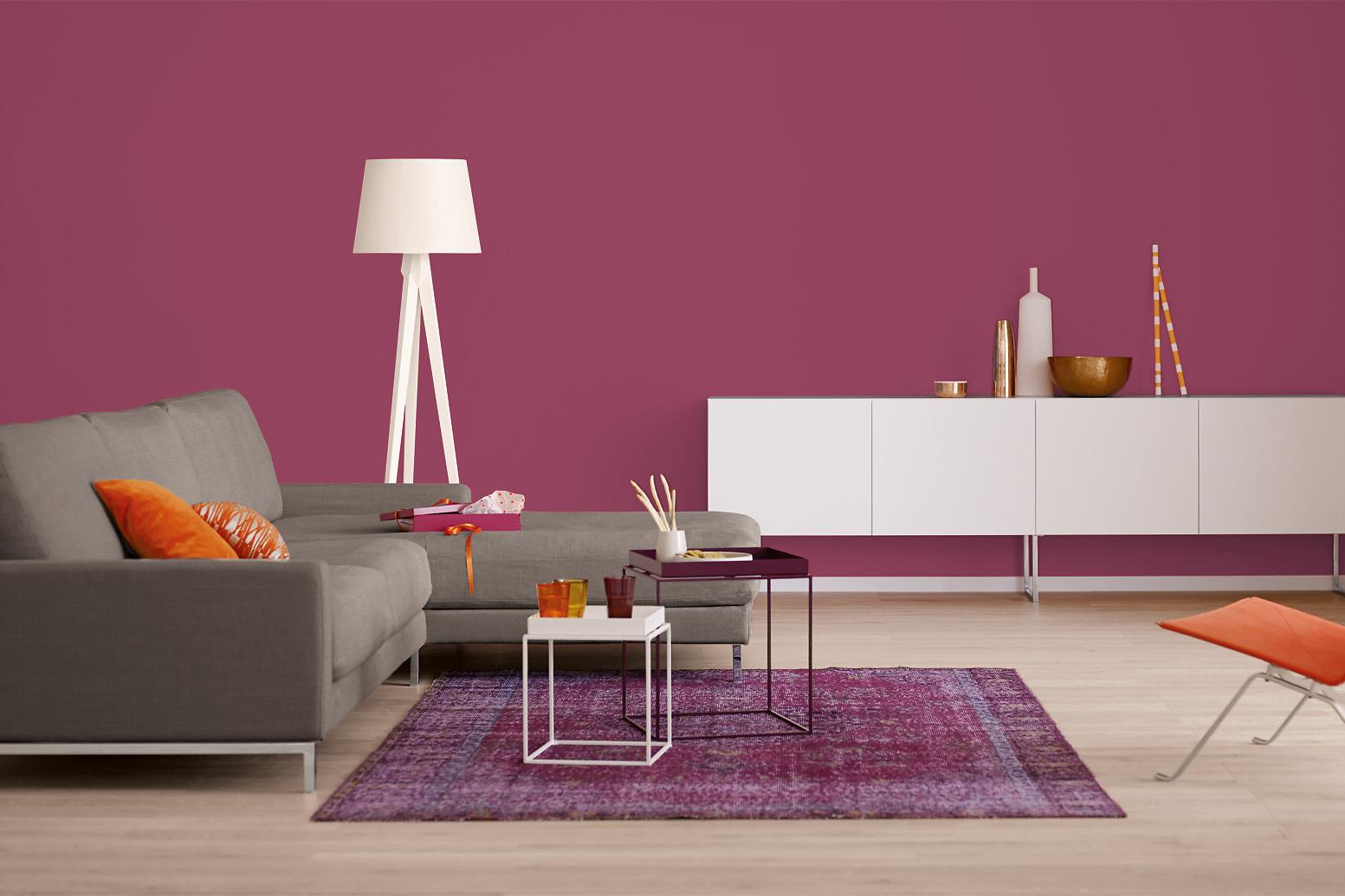 Lieblich Innenfarbe In Violett, Purpur Streichen: Alpina Farbrezepte Rendezvous    Alpina Farben