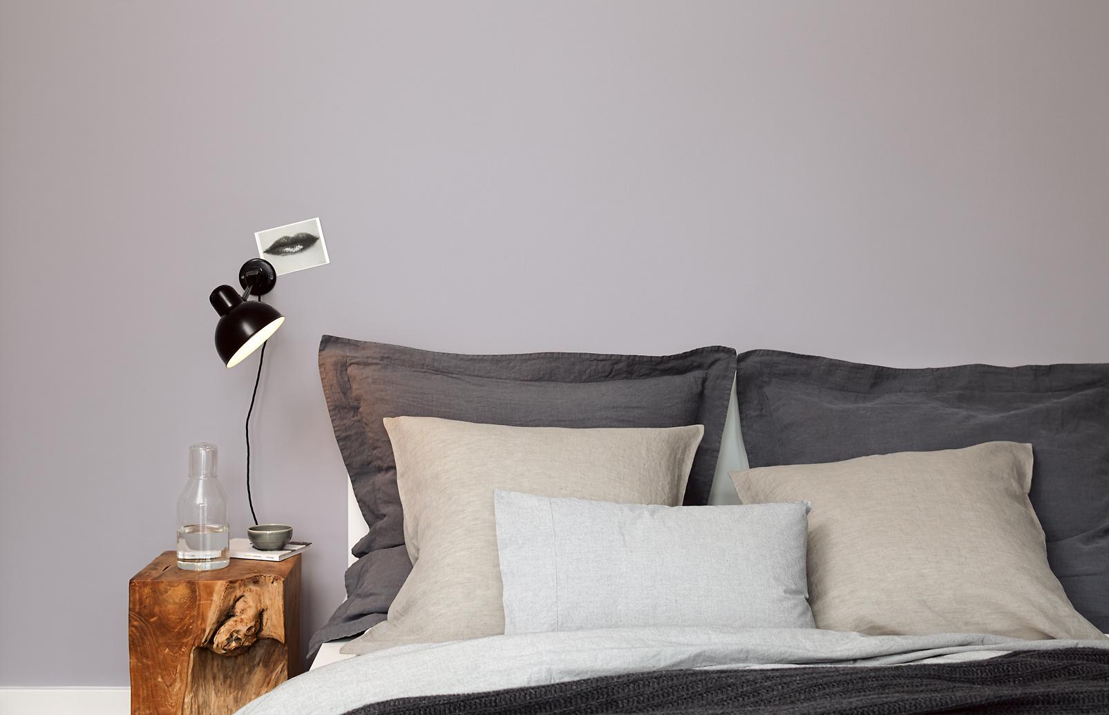 Schon Premium Wandfarbe. Violett, Grau Lila: Alpina Feine Farben LEISER MOMENT    Alpina Farben