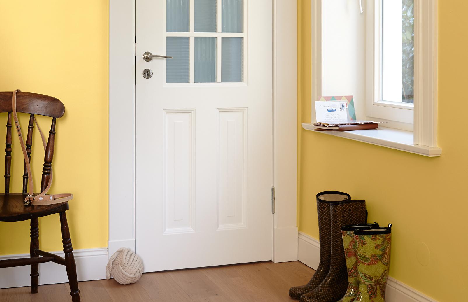 Premium wandfarbe gelb goldgelb alpina feine farben - Goldene wandfarbe ...