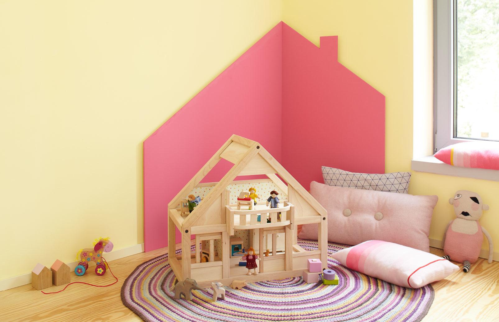 Kinderzimmer f r kleinkinder gestalten und einrichten for Kinderzimmer madchen rosa