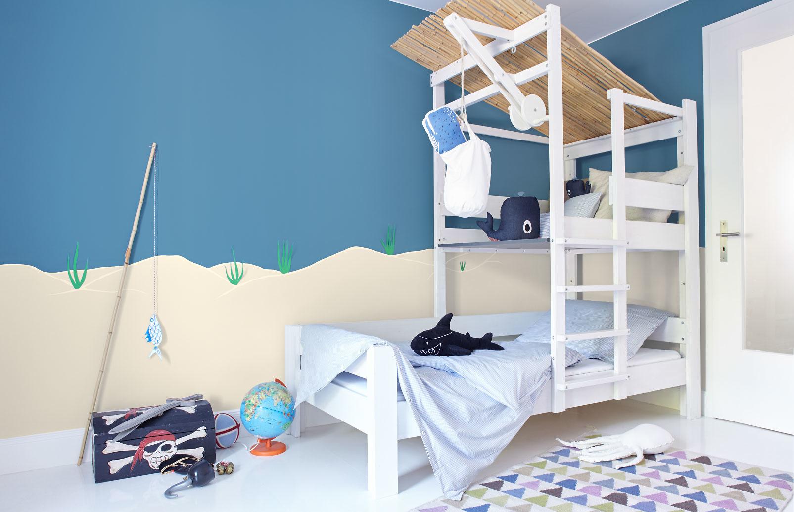 Blau alpina farben - Kinderzimmer gestalten farben ...