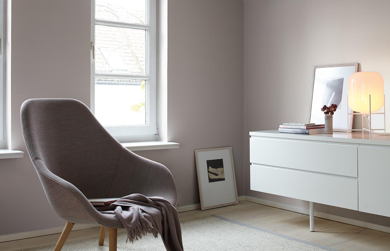 Premium-Wandfarbe. Grau, hellgrau: Alpina Feine Farben ...