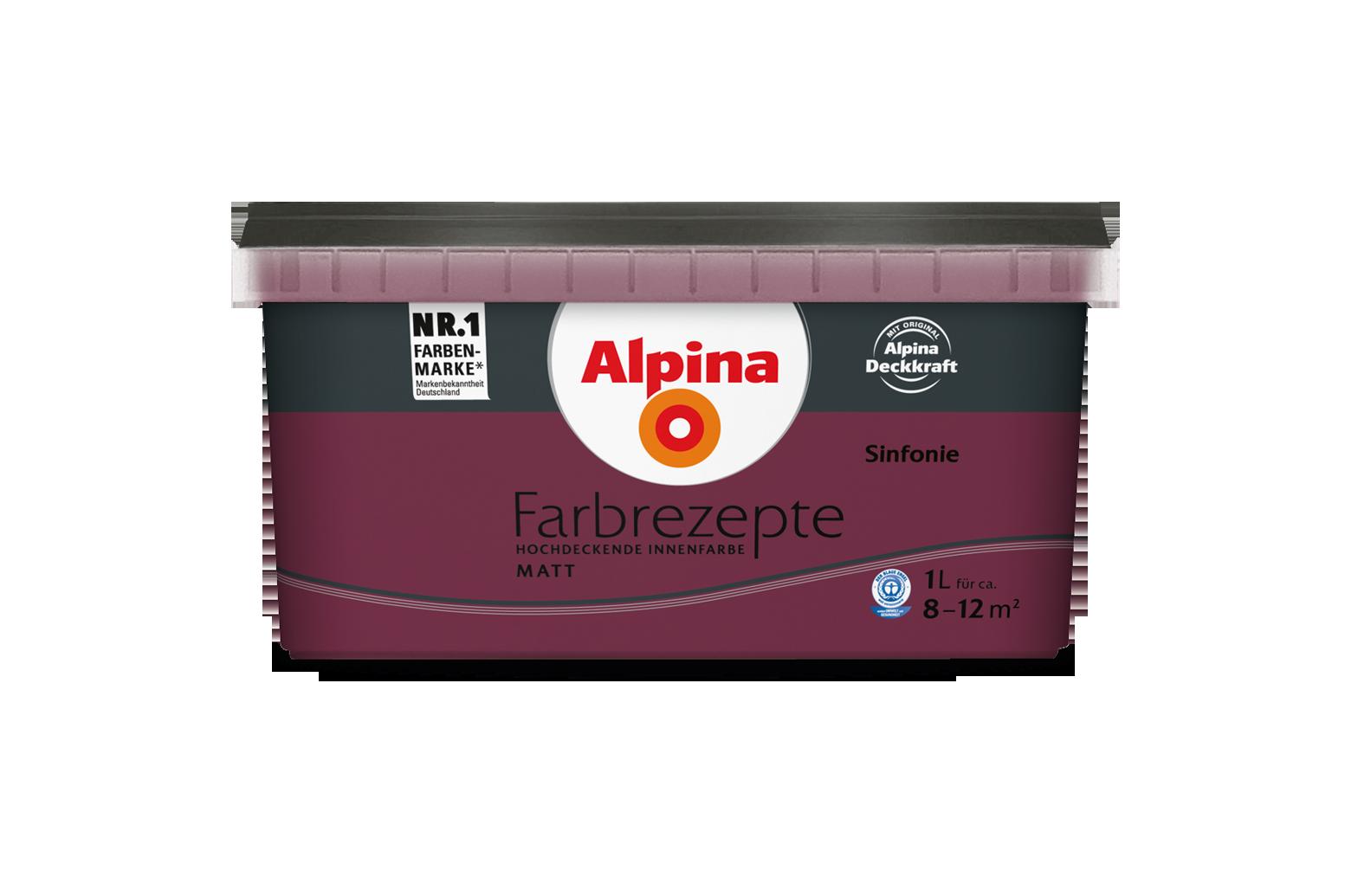 innenfarbe in bordeaux rot streichen alpina farbrezepte sinfonie alpina farben. Black Bedroom Furniture Sets. Home Design Ideas