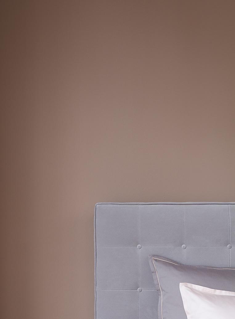 premium-wandfarbe. orange, terrakotta: alpina feine farben erde des