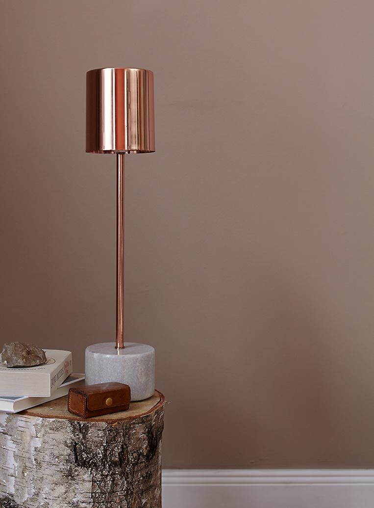 Gemeinsame Premium-Wandfarbe. Orange, terrakotta: Alpina Feine Farben ERDE @HW_52