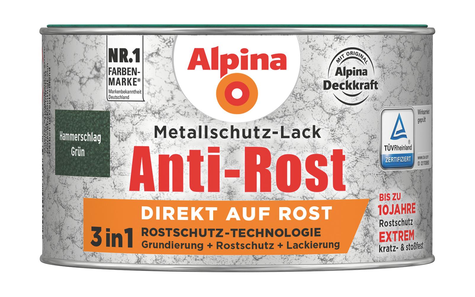 Wie Kann Eisen Vor Rost Schützen anti rost metallschutz lack hammerschlag grün direkt auf rost
