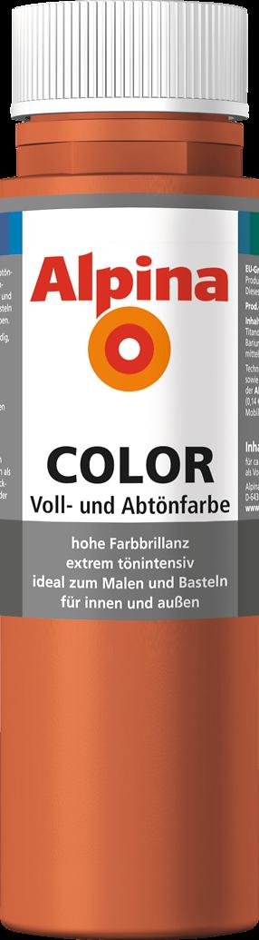 Fassadenfarbe mediterran braun  Abtönfarbe, Farbe selber mischen. Rot-Braun: Alpina Italien Red ...