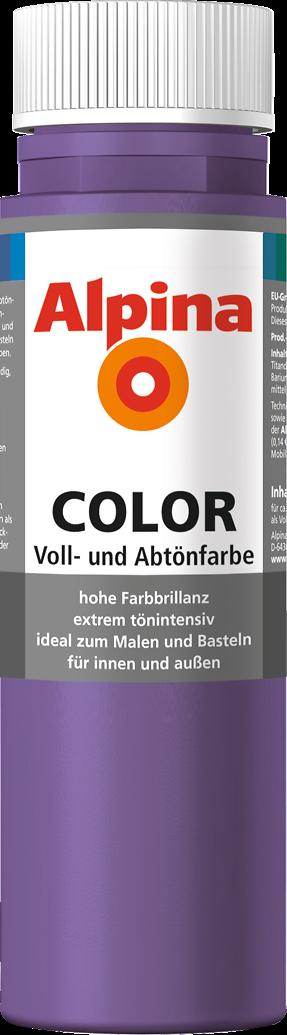 alpina color sweet violet alpina farben. Black Bedroom Furniture Sets. Home Design Ideas