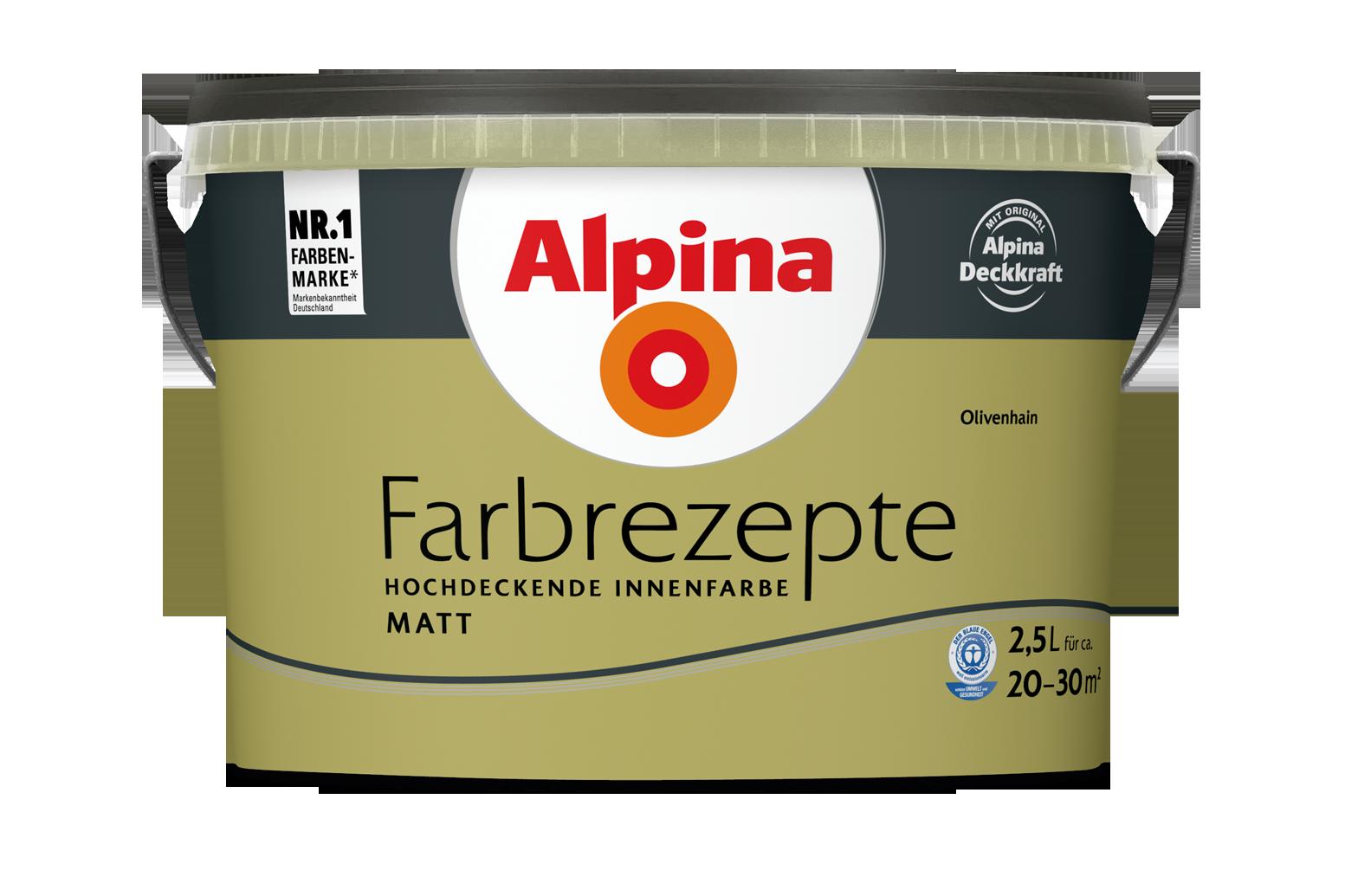 Ideen fürs Küche Streichen und Gestalten: Alpina Farbe & Einrichten