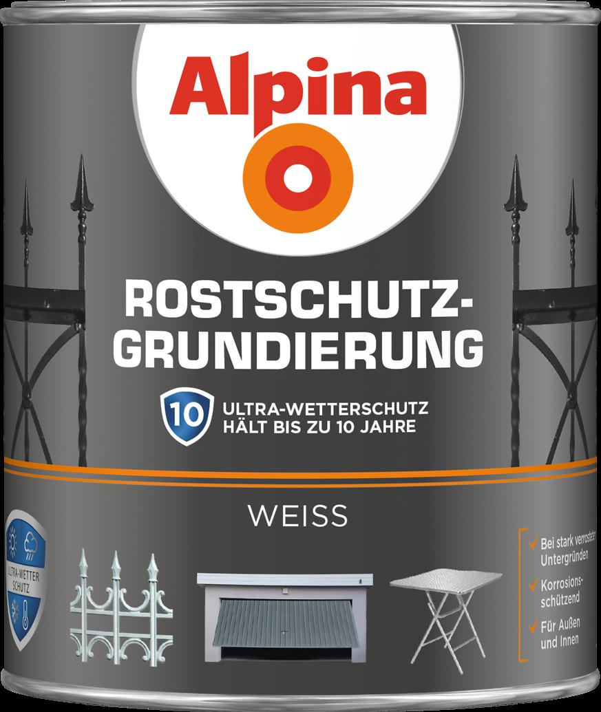 Extrem Alpina Rostschutz-Grundierung - Alpina Farben LI31