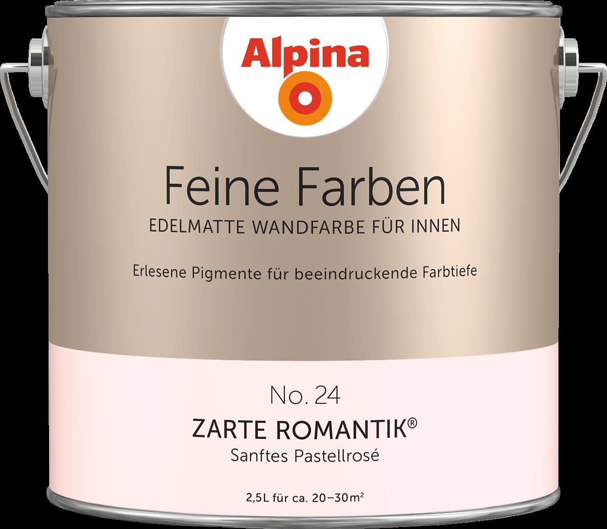 Alpina Feine Farben Nr. 24 U201eZARTE ROMANTIKu201c   Sanftes Pastellrosé