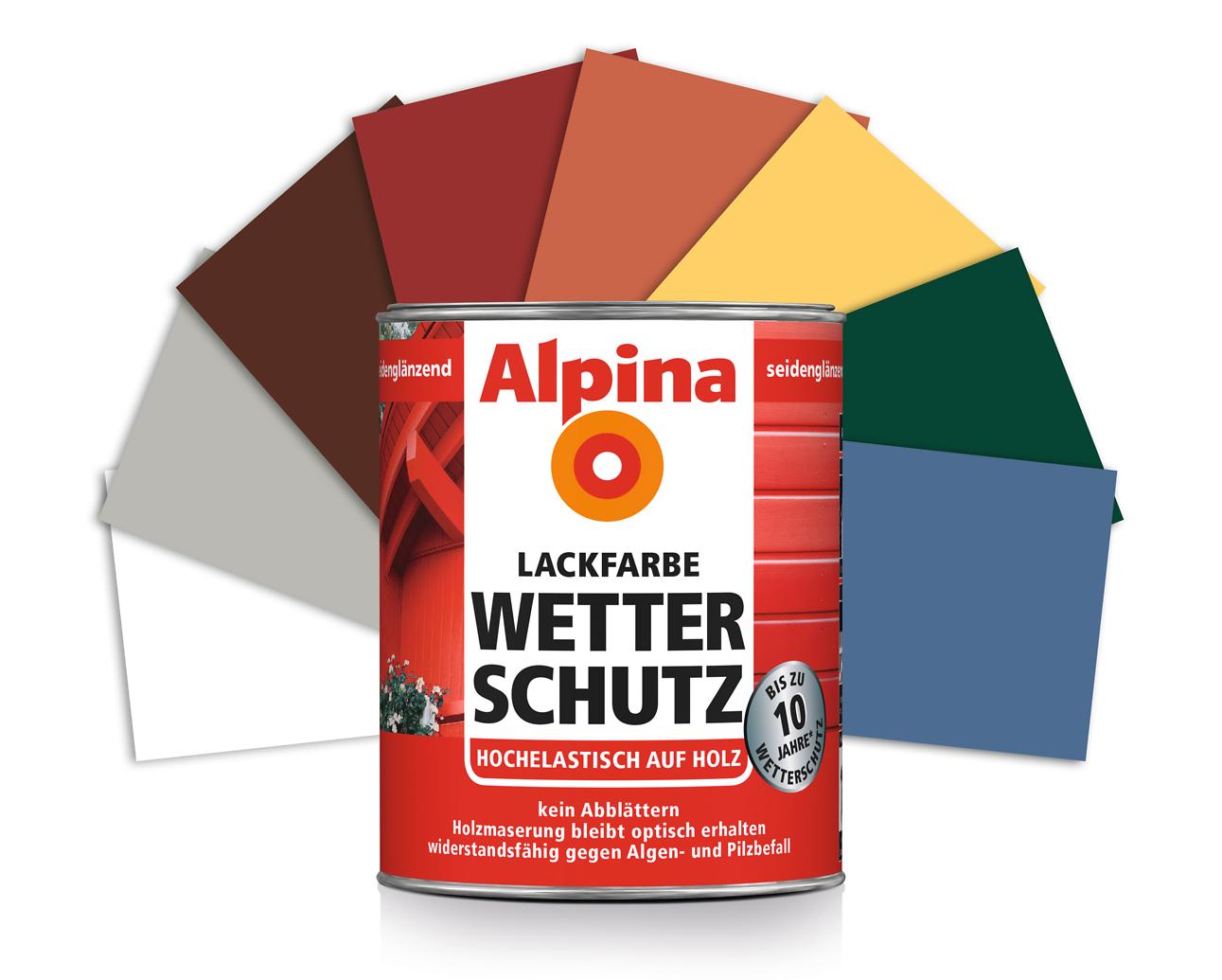 holz lack wei erhalt der maserung alpina wetterschutz lackfarbe wei alpina farben. Black Bedroom Furniture Sets. Home Design Ideas