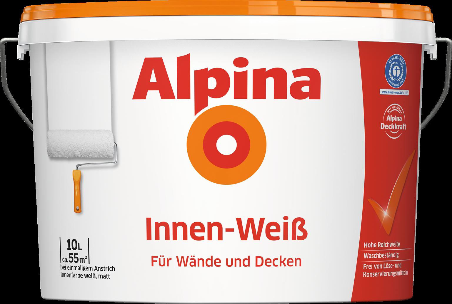 Wandfarbe Weiß wandfarbe weiß innenfarbe für alle flächen alpina innen weiß
