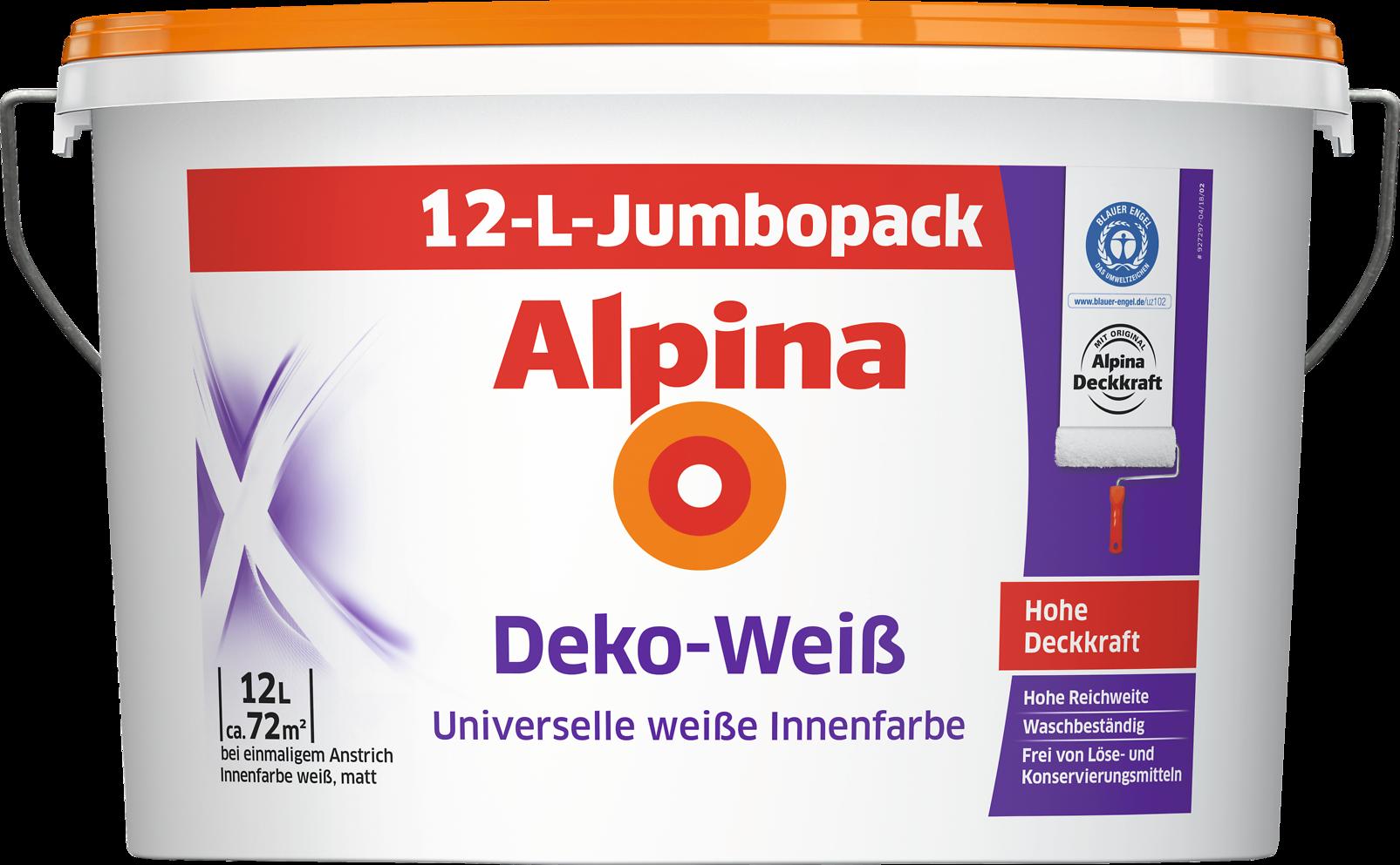 Alpina Deko-Weiß - Alpina Farben