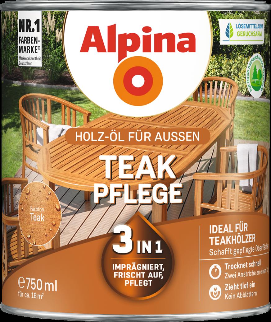 Alpina Teak Pflege Alpina Farben