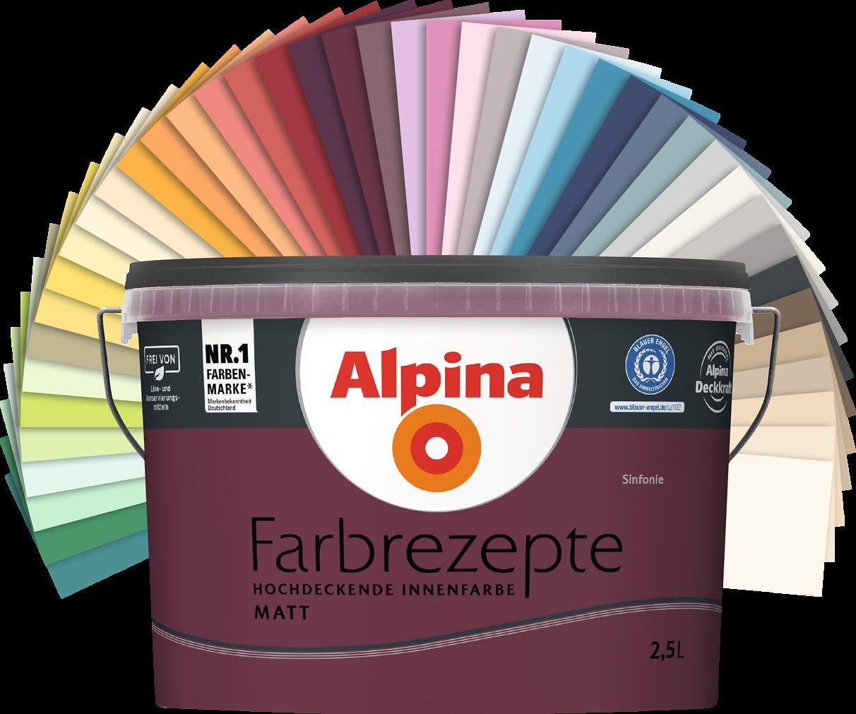 Farbenlehre Welche Farben Passen Am Besten Zusammen Wohnen: Innenfarbe In Gelb, Zitronengelb Streichen: Alpina