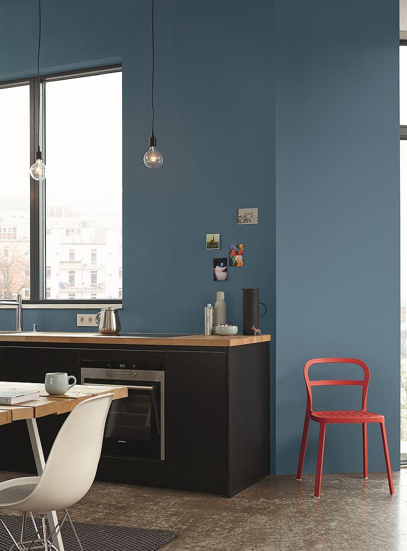 ideen fürs küche streichen und gestalten: alpina farbe