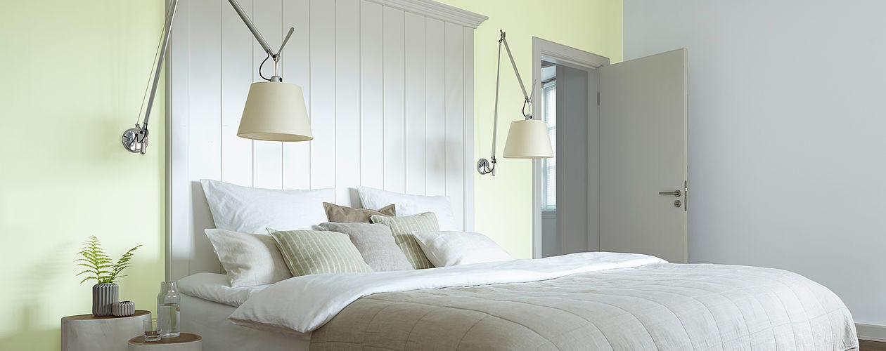 Ideen Fur Die Gestaltung Vom Schlafzimmer Alpina Farbe Einrichten