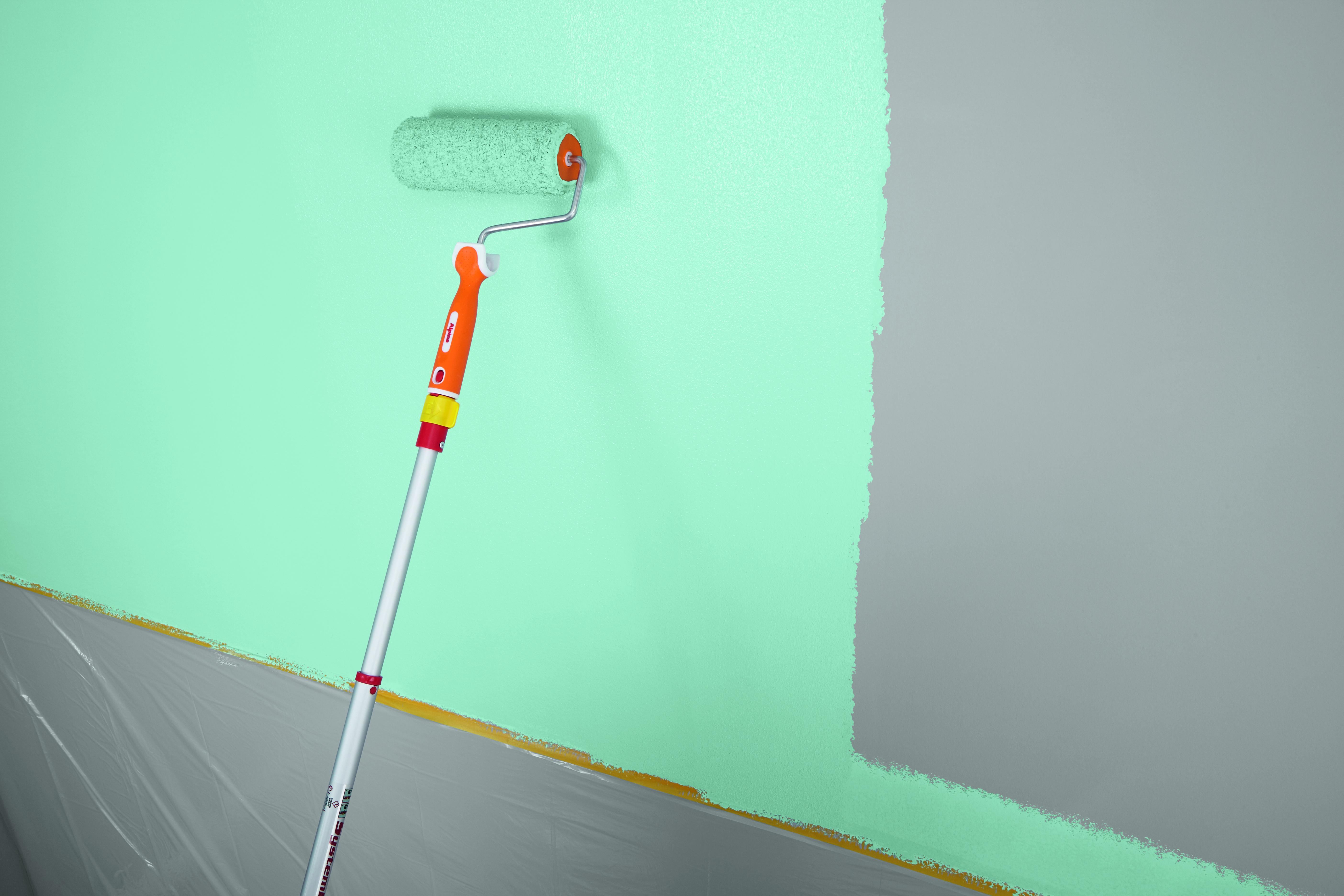 Innenarchitektur Wand Zweifarbig Streichen Sammlung Von Für Eine Perfekte Oberfläche Nach Etwa Zwei