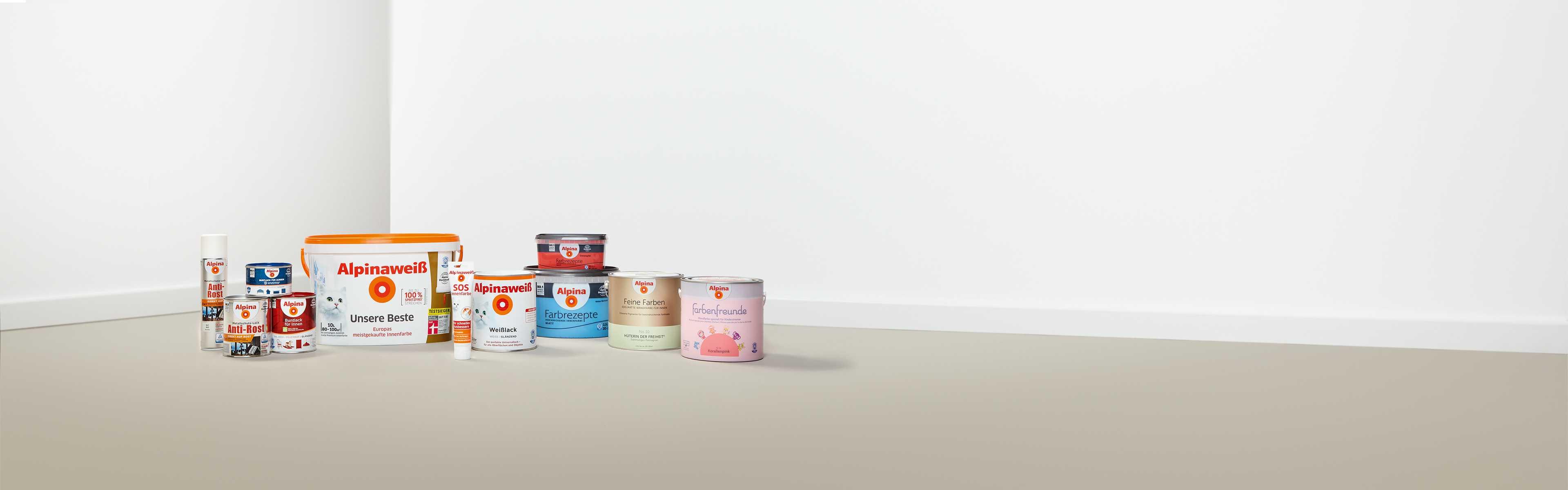 philosophie und qualit tsanspruch von alpina farben. Black Bedroom Furniture Sets. Home Design Ideas