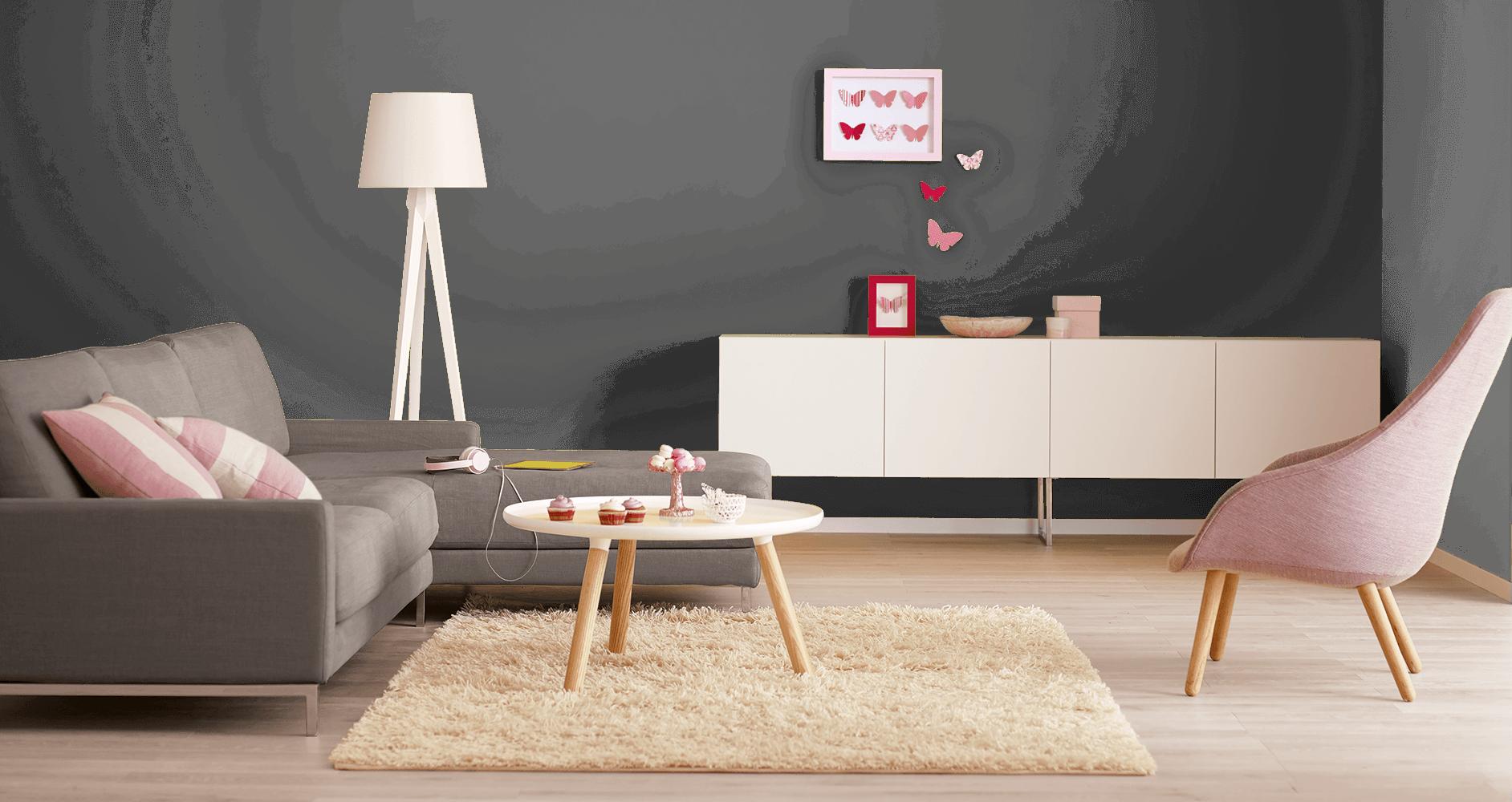 Kreative Farbgestaltung in Räumen: Alpina Farbrezepte und Effektfarben