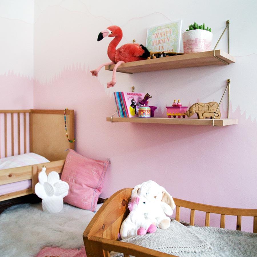 Farbenfreunde wandschablonen for Wandschablone kinderzimmer