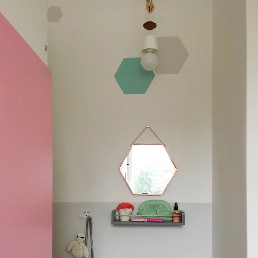 Kinderzimmer grau rosa t rkis for Kindertapeten gunstig
