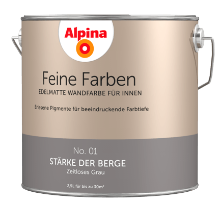 Edelmatte Wandfarben In Grau Alpina Farben