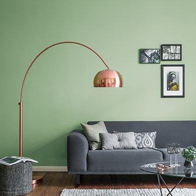 Edelmatte Wandfarben In Grun Alpina Farben