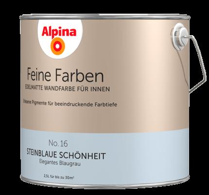alpina feine farben edelmatte wandfarben in blau alpina farben. Black Bedroom Furniture Sets. Home Design Ideas