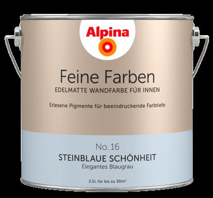inspirationsboard steinblaue sch nheit von susanne m alpina farben. Black Bedroom Furniture Sets. Home Design Ideas