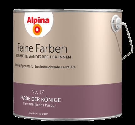 alpina feine farben edelmatte wandfarben in violett und lila alpina farben. Black Bedroom Furniture Sets. Home Design Ideas