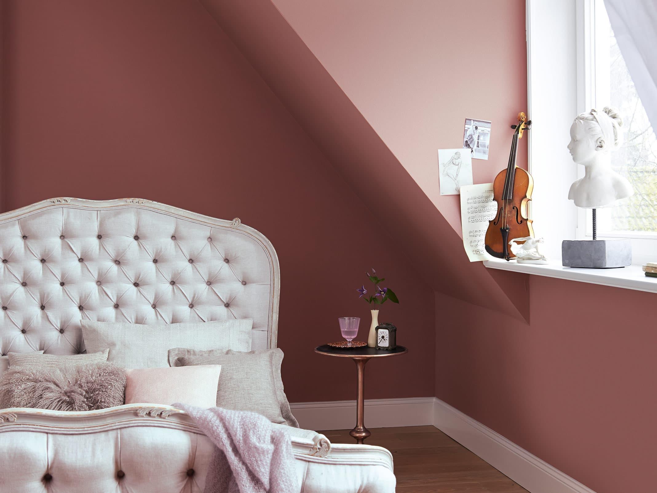Alpina Feine Farben Edelmatte Wandfarben In Violett Und Lila