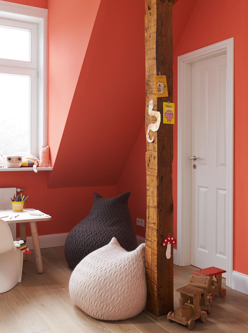 alpina feine farben edelmatte wandfarben in orange. Black Bedroom Furniture Sets. Home Design Ideas