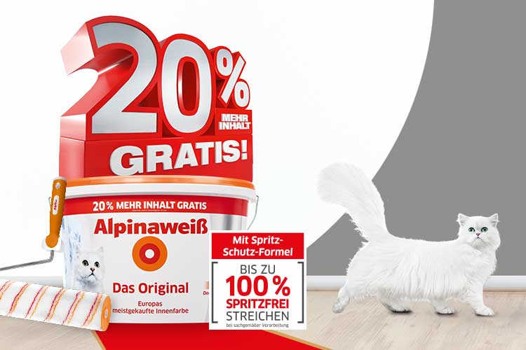 Alpinaweiss 20% Aktion