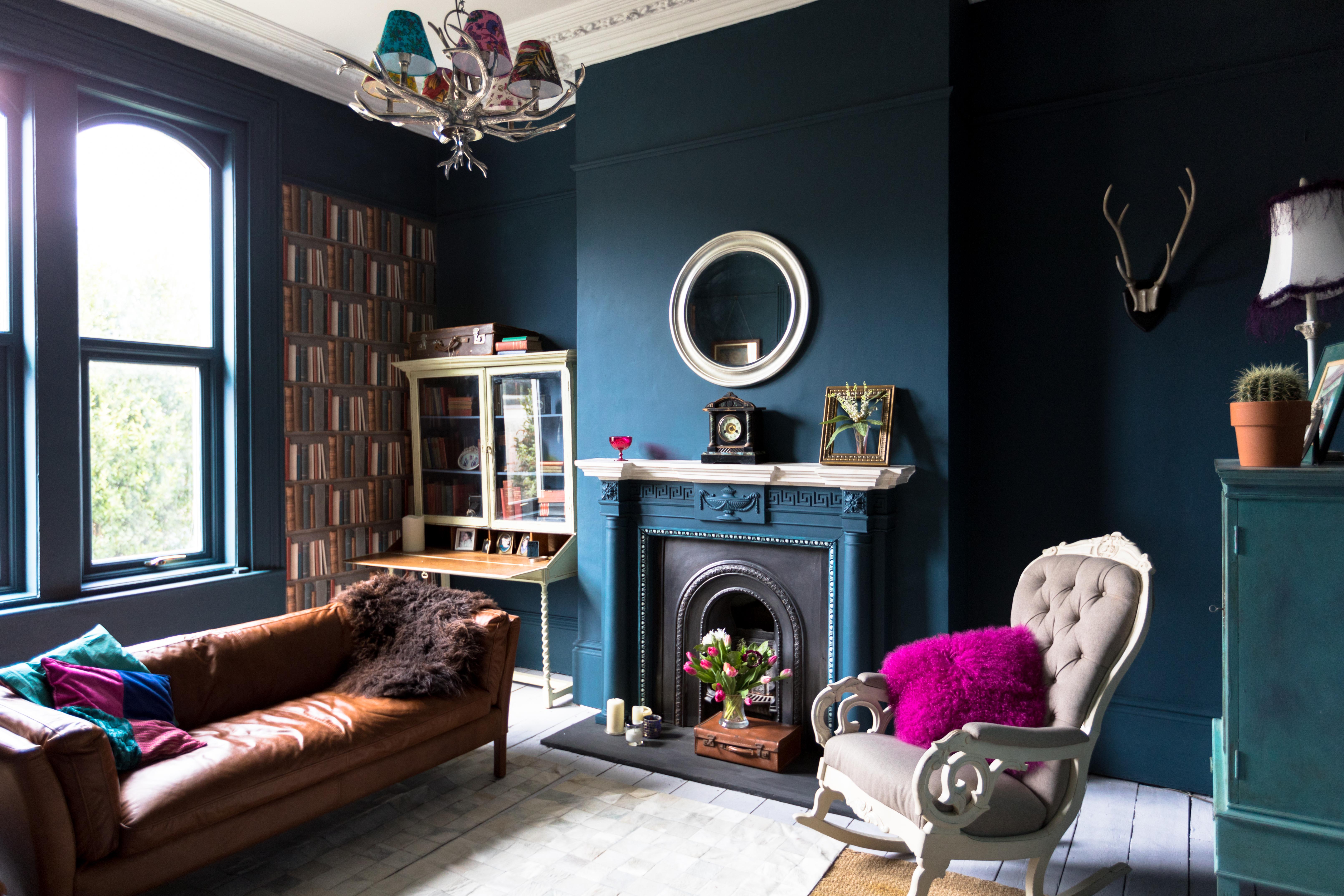 Petrol Wandfarbe Cooles Aber Elegantes Blaugrün Als Innenfarbe