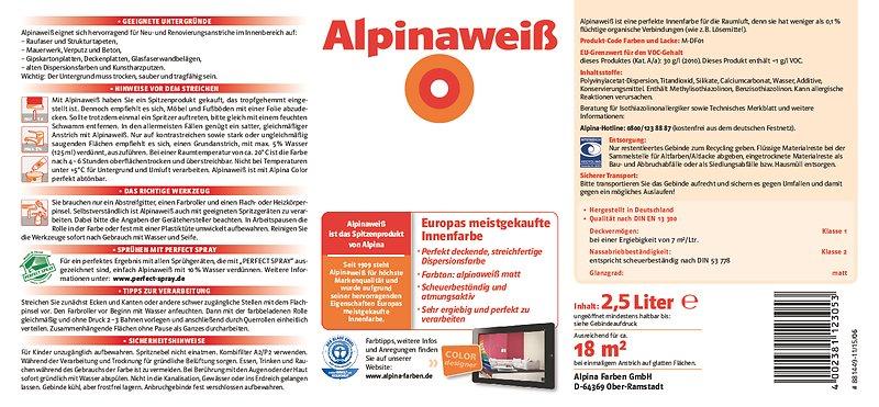 Tipps für optimale Deckkraft beim Streichen: Alpina Innen streichen