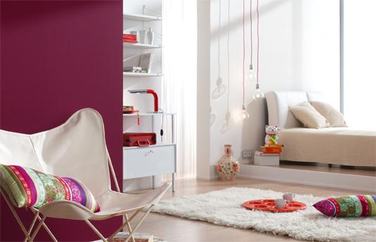 8 farbkombinationen f r wei und bunt alpina farbe - Stylische wandgestaltung ...