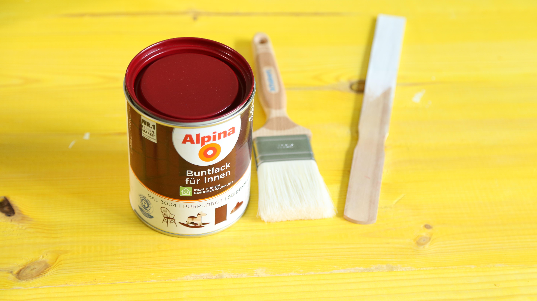 profi tipps zum lackieren von holz alpina lackieren. Black Bedroom Furniture Sets. Home Design Ideas