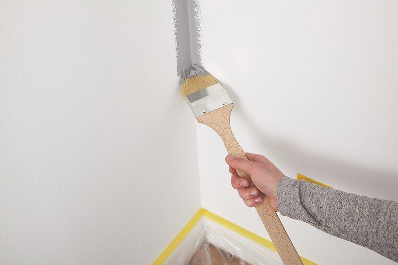 Tipps, um Wände gleichmäßig zu streichen: Alpina Innen streichen