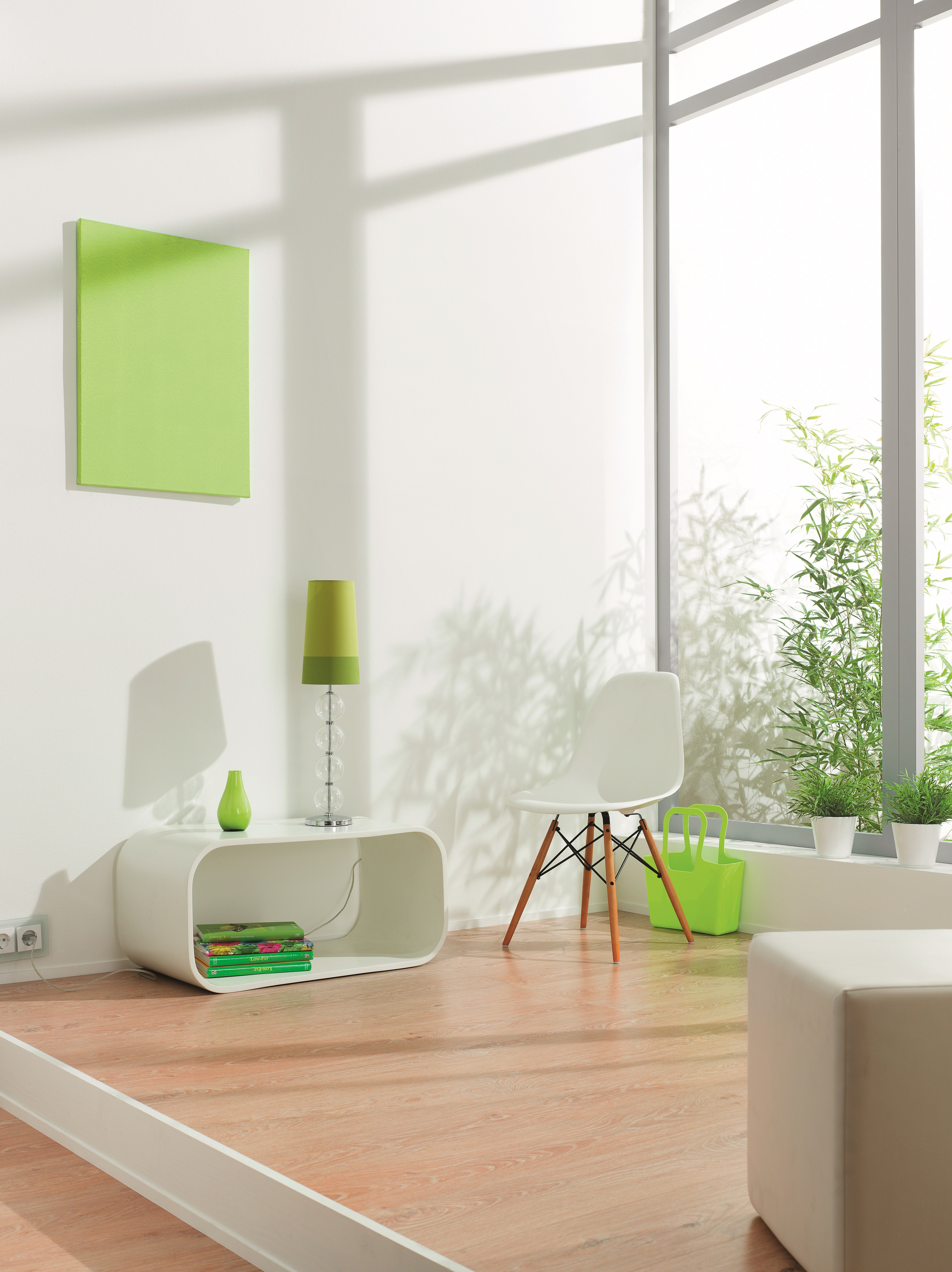 die wandfarbe wei harmonisch kombinieren alpina farbe einrichten. Black Bedroom Furniture Sets. Home Design Ideas