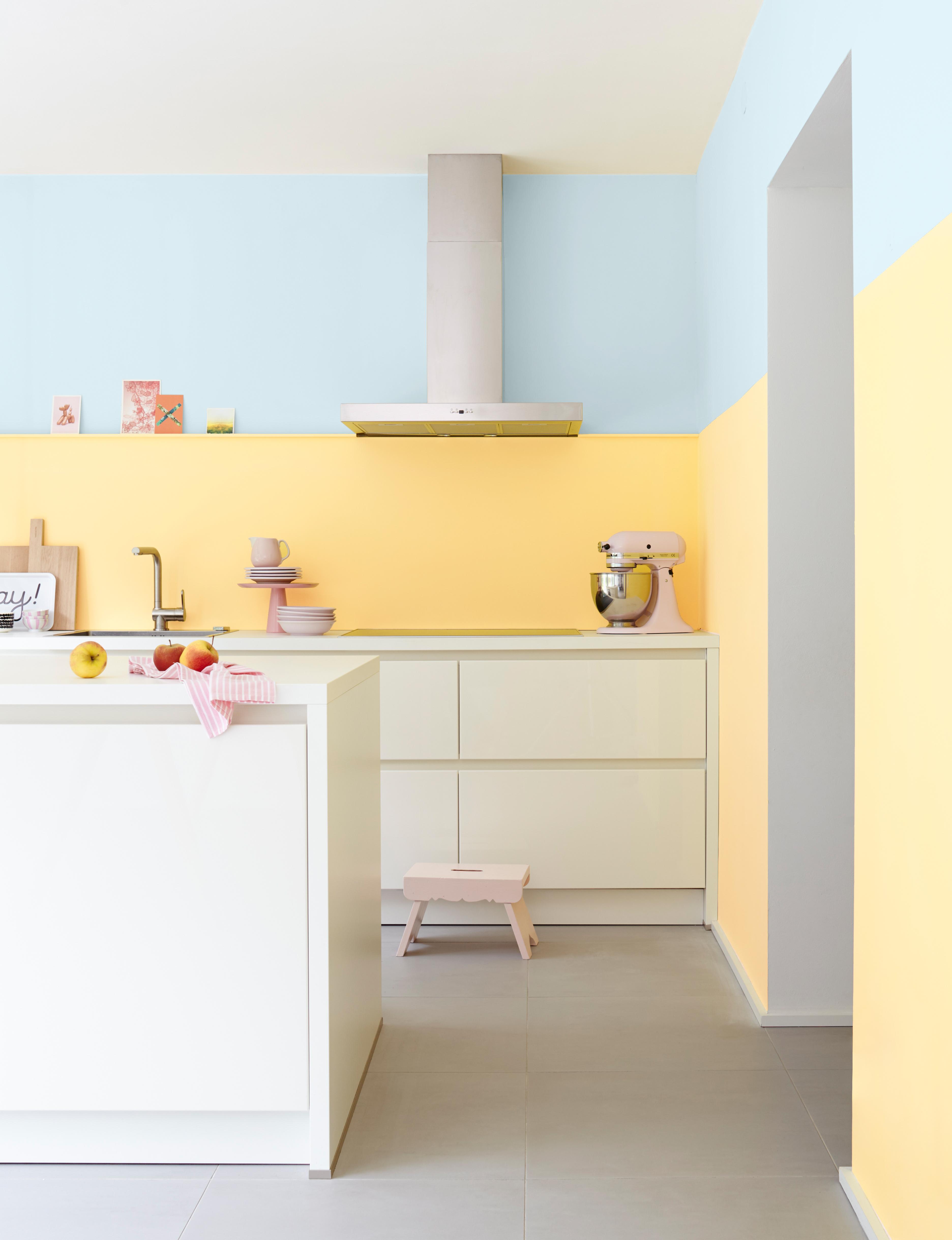 farb wirkung von gelb im raum alpina farbe wirkung. Black Bedroom Furniture Sets. Home Design Ideas