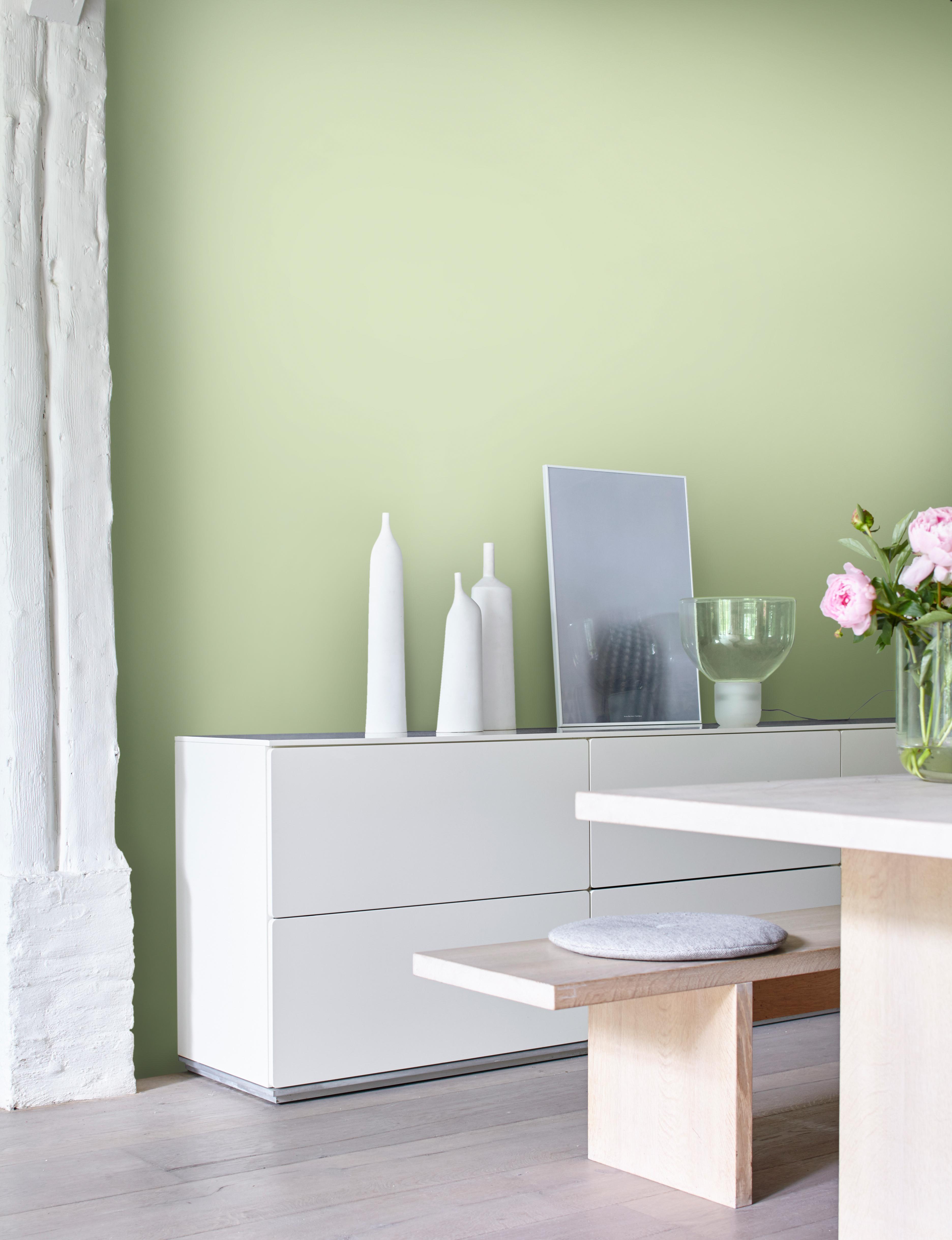 Wunderbar Grün Im Esszimmer Sorgt Für Frische Und Inspiration